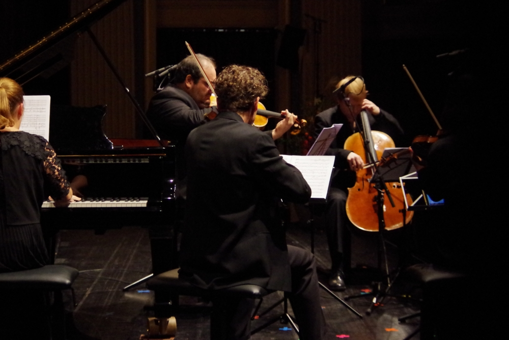 27.9.2018 – Konzert: ... dessen Komplexität lässt sich auch ... (Foto: Christine Tröger)
