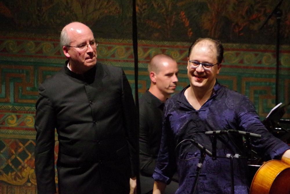 28.9.2018 – Konzert: ... von Oliver Triendl (Klavier) und Giovanni Gnocchi (Violoncello) ... (Foto: Christine Tröger)