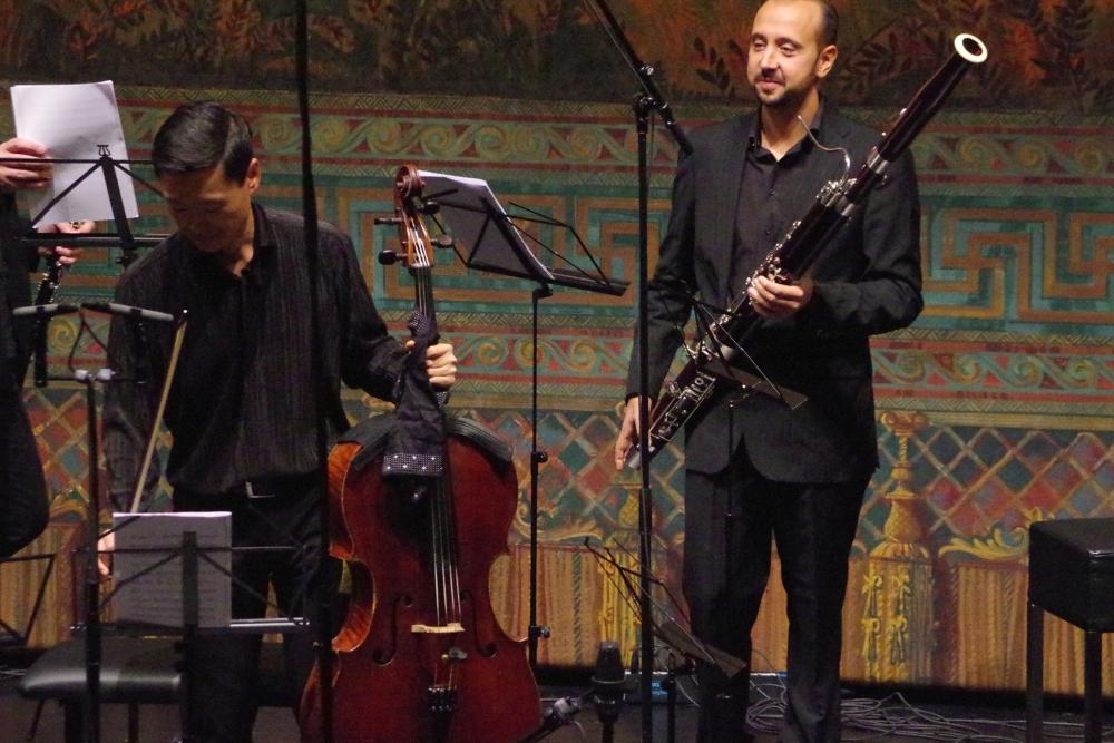 28.9.2018 – Konzert: Vorbereitung zum Nonett von Nino Rota (1911-1979) ... (Foto: Christine Tröger)