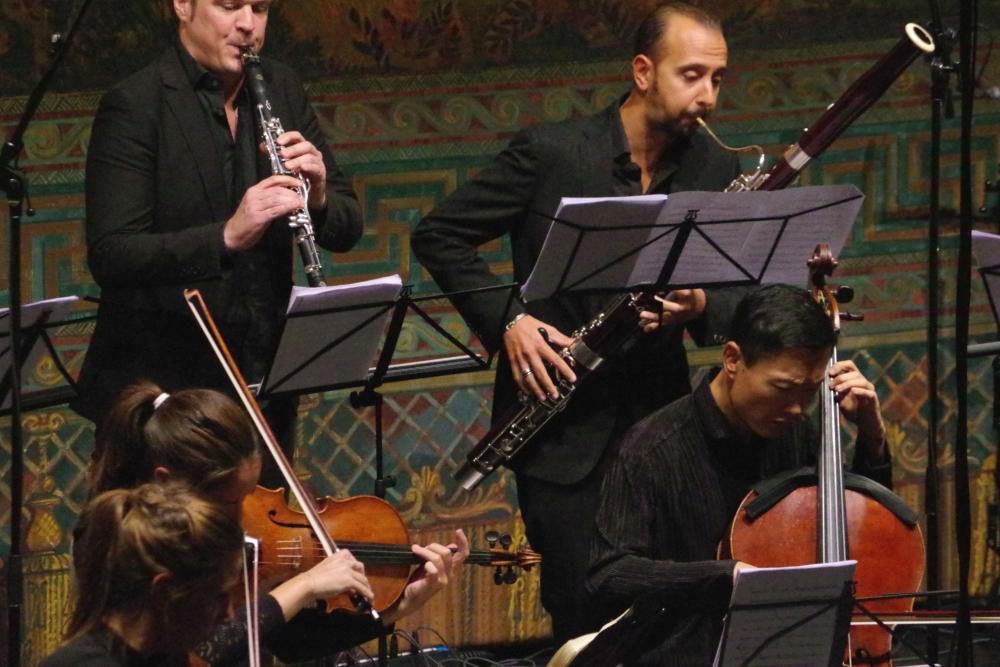 28.9.2018 – Konzert: ... Isaac Rodríguez (Klarinette), Andrea Zucco (Fagott) ... (Foto: Christine Tröger)