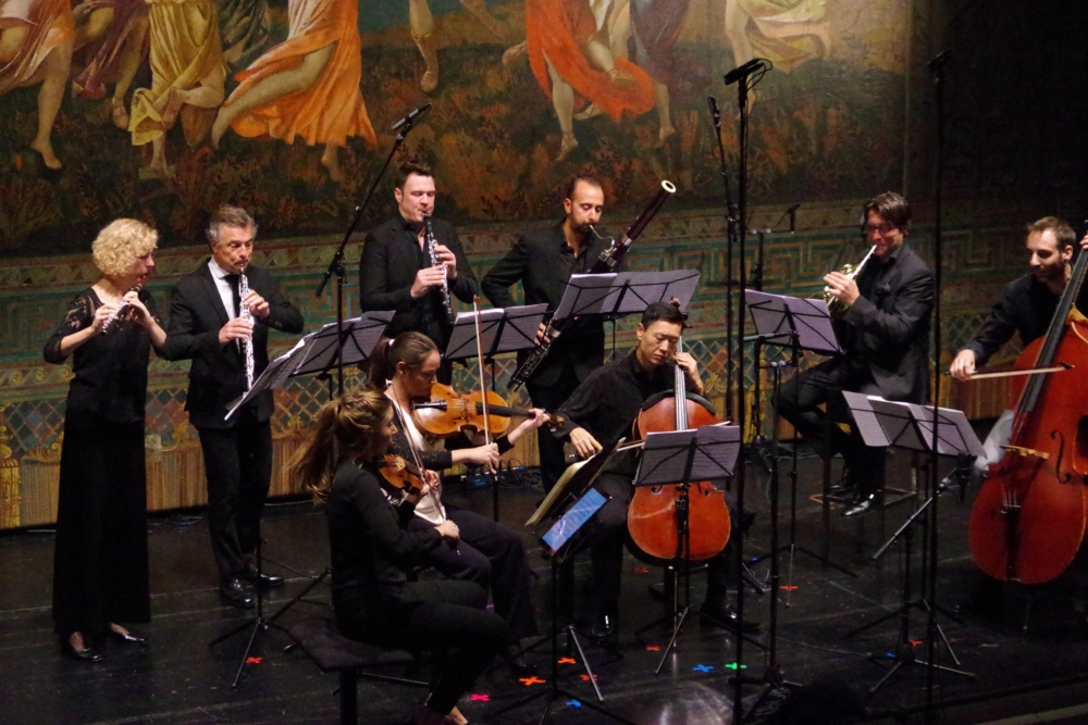 28.9.2018 – Konzert: ... bezaubern das Publikum einmal mehr mit einem wunderbaren Werk. (Foto: Christine Tröger)