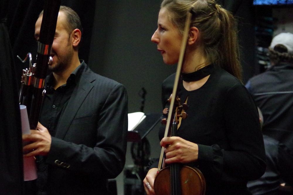 28.9.2018 – Konzert: Glückliche Gesichter auch wieder ... (Foto: Christine Tröger)