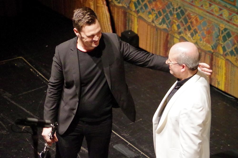 29.9.2018 – Konzert: ... interpretiert von Isaac Rodríguez (Klarinette) und Oliver Triendl (Klavier). (Foto: Christine Tröger)