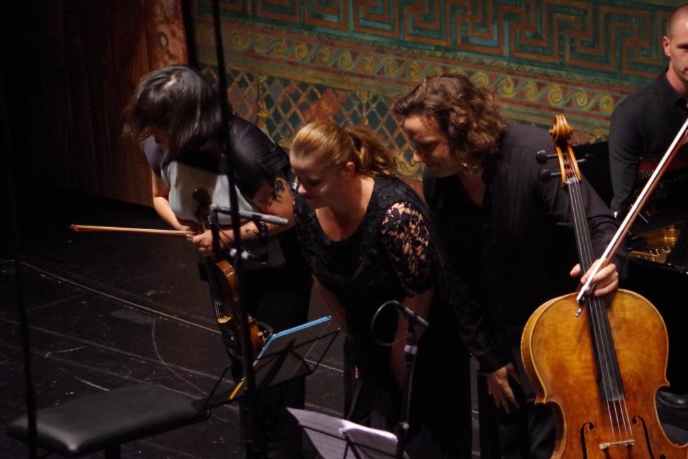 29.9.2018 – Konzert: ...  als Trio ... (Foto: Christine Tröger)