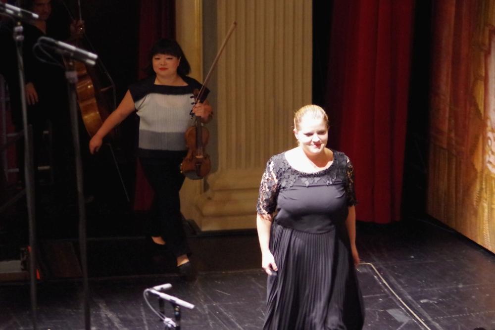 29.9.2018 – Konzert: ... viel Applaus und wie bei fast allen Werken der Festivalwoche ... (Foto: Christine Tröger)