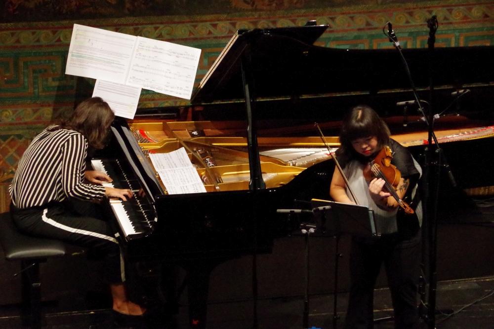 29.9.2018 – Konzert: ... seine Uraufführung ... (Foto: Christine Tröger)