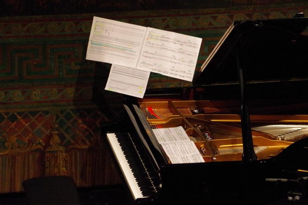 29.9.2018 – Konzert: ... komplexe Stück. (Foto: Christine Tröger)