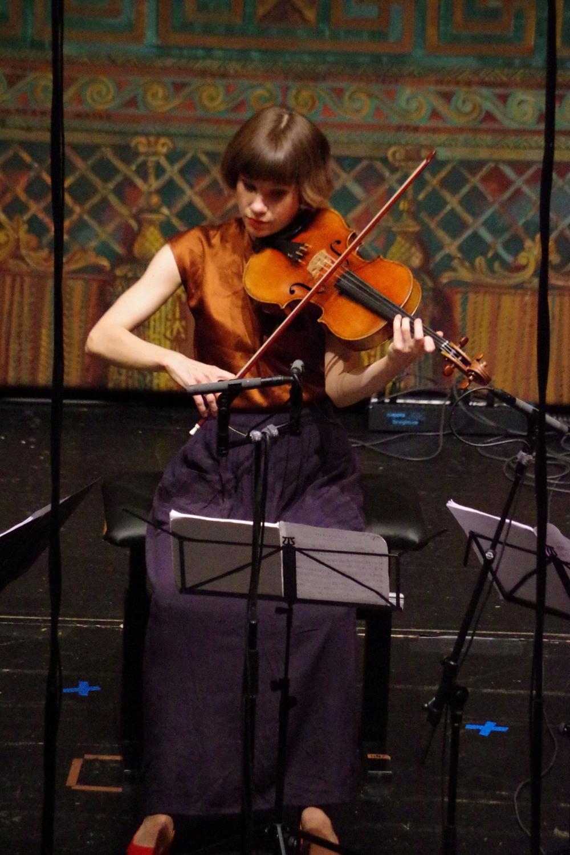 29.9.2018 – Konzert: ... der Bratscherin Lilli Maijala und ... (Foto: Christine Tröger)