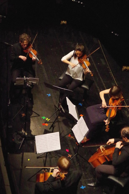 29.9.2018 – Konzert: ... an den Violinen Corey Cerovsek und  Nina Karmon. (Foto: Christine Tröger)