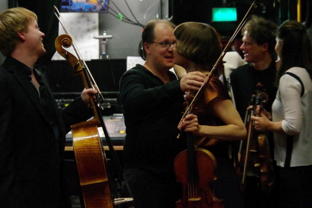 29.9.2018 – Konzert: ...  das eben aufgeführte Werk ...  (Foto: Christine Tröger)