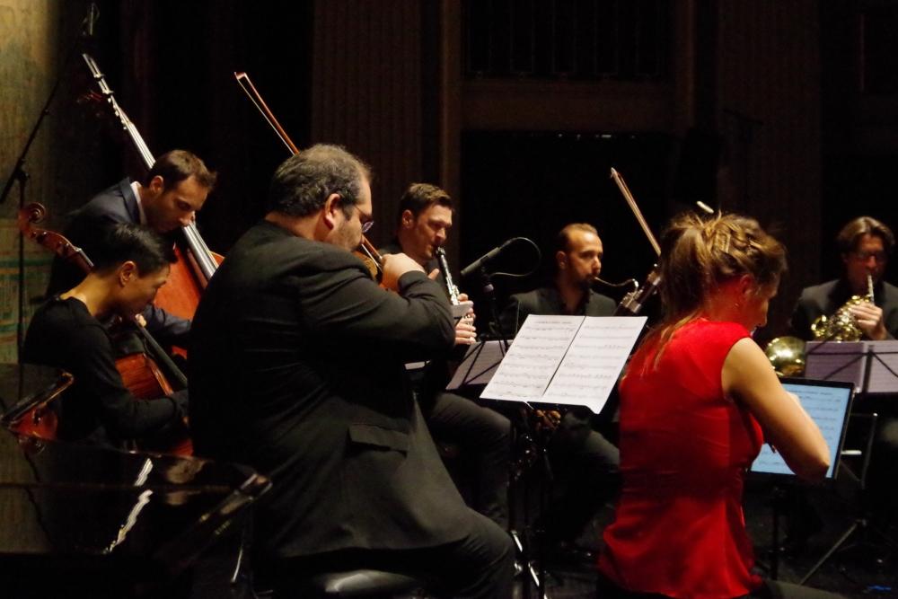 29.9.2018 – Konzert: ...  Finale aus  ...  (Foto: Christine Tröger)