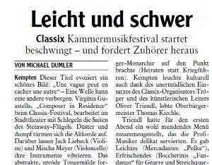 Allgäuer Zeitung, 25.09.2018