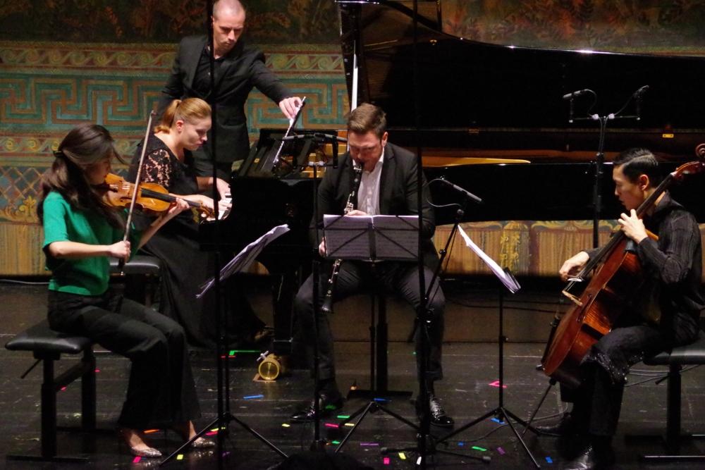 30.9.2018 – Konzert: ... mit Mario Castelnuovo-Tedescos (1895-1968) ›Pastorale und Rondo‹ op. 185 (1958) ... (Foto: Christine Tröger)