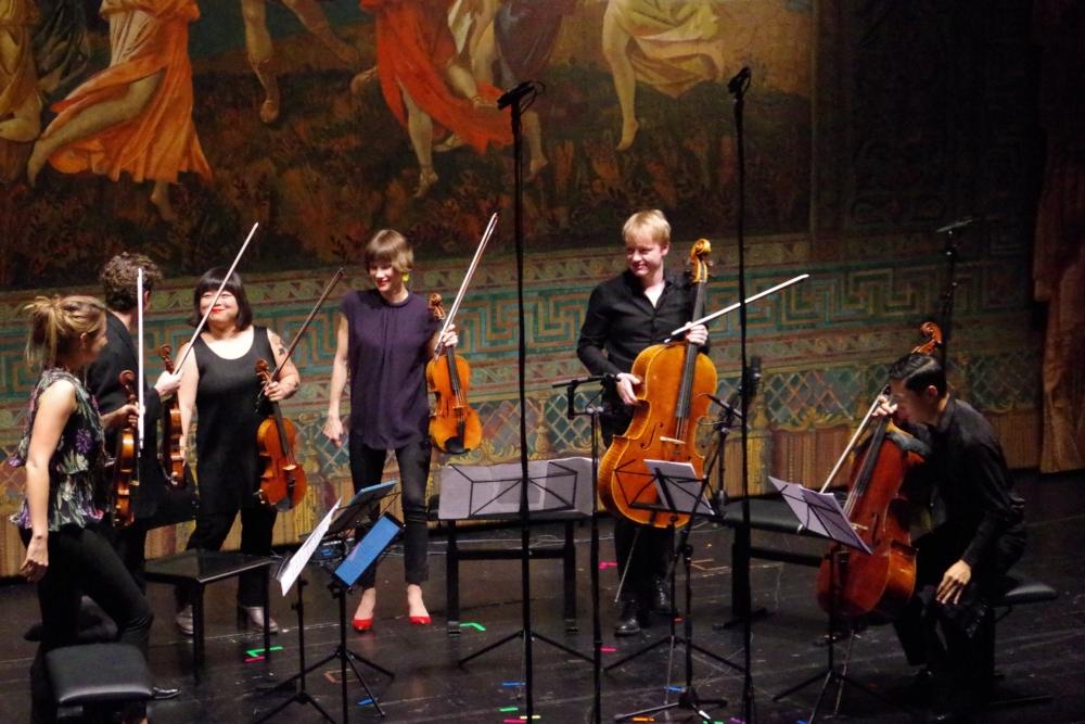 30.9.2018 – Konzert: ... galt es für die Zuhörer die Ohren genau zu spitzen ...(Foto: Christine Tröger)
