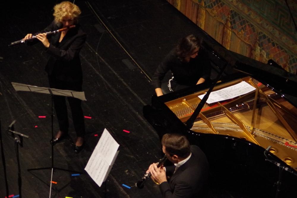 30.9.2018 – Konzert: »… à bout de souffle …« aus dem Jahr 2013 war das sechste und letzte Stück Virginia Guastella im Festival ... (Foto: Christine Tröger)