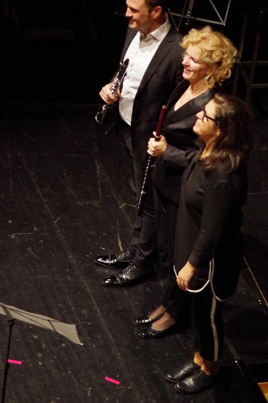 30.9.2018 – Konzert: ... Künstlern. (Foto: Christine Tröger)