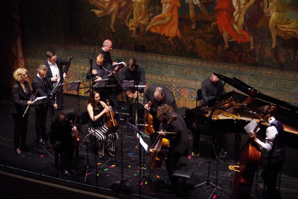 30.9.2018 – Konzert: Großes Finale wieder im offiziellen Programmteil ...(Foto: Christine Tröger)