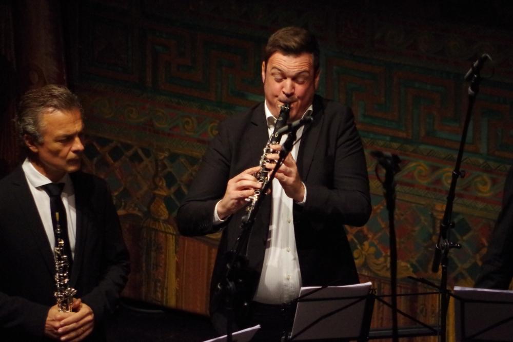 30.9.2018 – Konzert: ... die Kammermusiker ...(Foto: Christine Tröger)