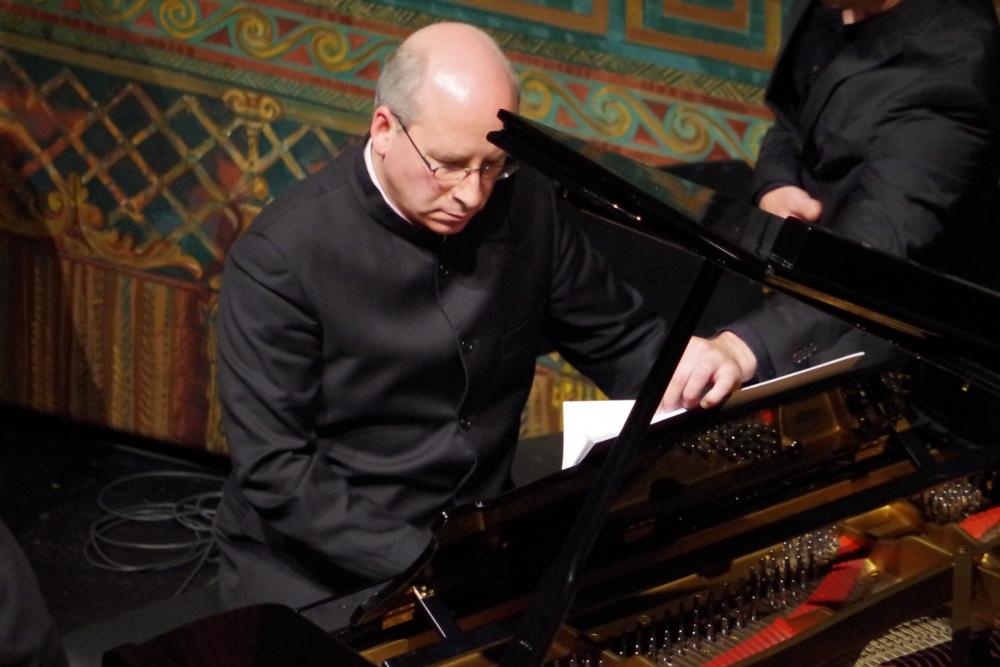 30.9.2018 – Konzert: ... Oliver Triendl (Klavier) am Klavier ... (Foto: Christine Tröger)