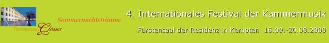 CLASSIX 2009 – Sommernachtsträume - Kammermusik aus Skandinavien