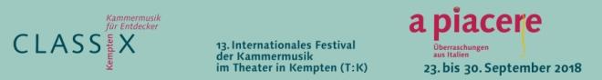 Classix 2018 - Kammermusik aus Italien