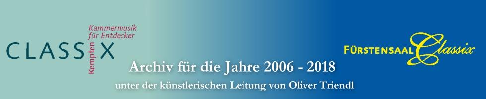 CLASSIX Kempten Archiv - Die Jahre 2006 - 2018